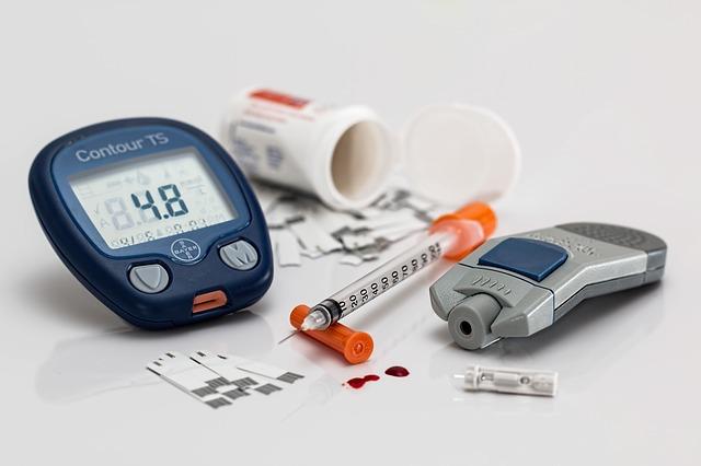 Photo of diabetes testing supplies