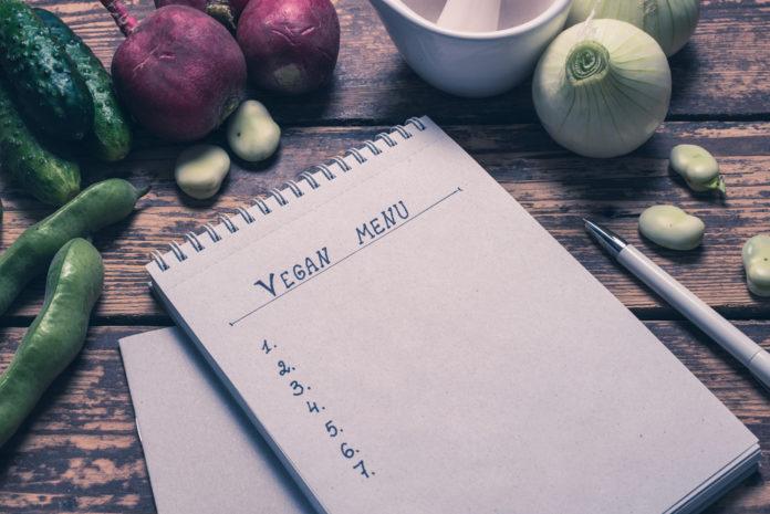 photo of Vegan Menu