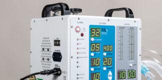 Photo of ventilator prototype