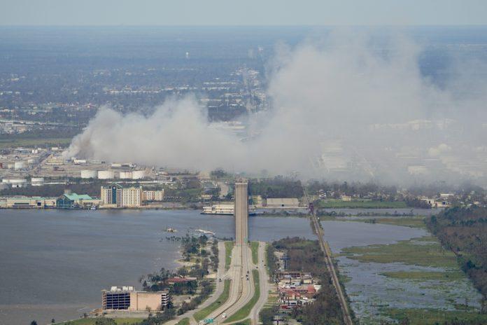 Photo of gulf coast hurricane damage
