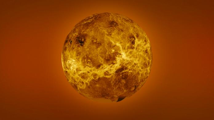 Artist drawing of Venus