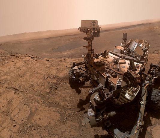 Photo of NASA Mars rover Curiosity